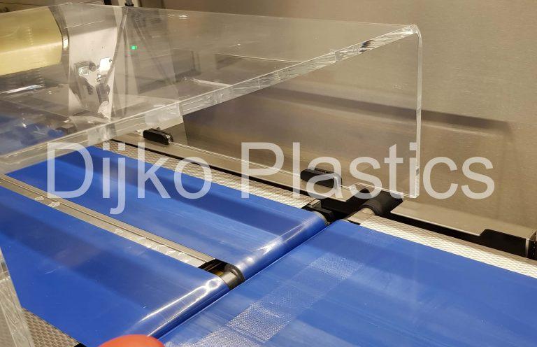 Machine kap helder polycarbonaat